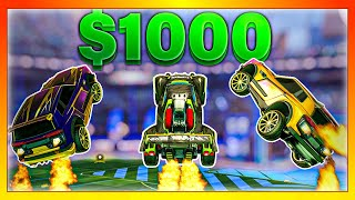 Last to stop aerialing wins $1,000 (Rocket League)