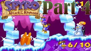 Spyro Attack of the Rhynocs [Part 4] Popsicles For Snowmen! [HD]