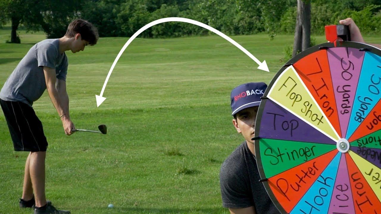 Random Golf Shot Challenge | Winner Gets $250 - Wheel of Not Ideal