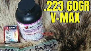 .223 Rem 60gr V-Max 4 Barrel Length AR-15 Velocity and Function Test.