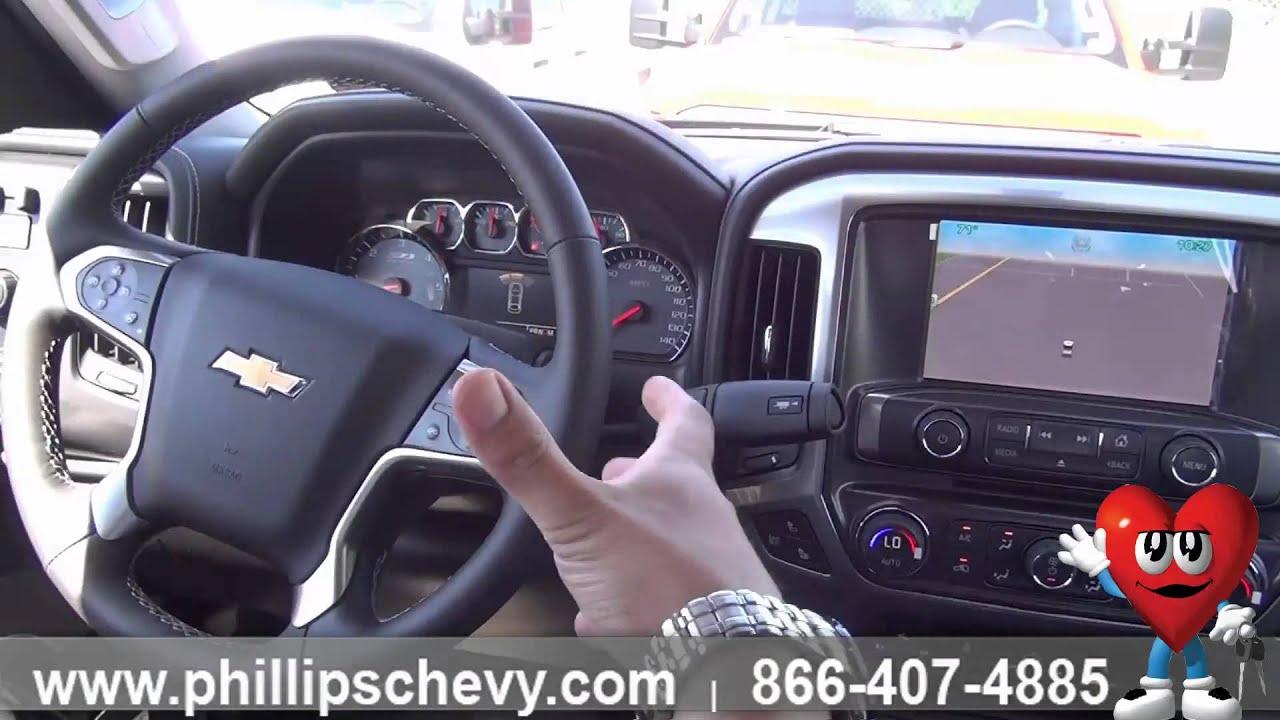 Phillips Chevrolet  2015 Chevy Silverado 2500HD  Interior Features  Chicago New Car