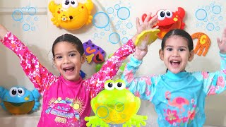 Bath Song! I don't want to bathe Nursery Rhymes songs by Sam and Abby