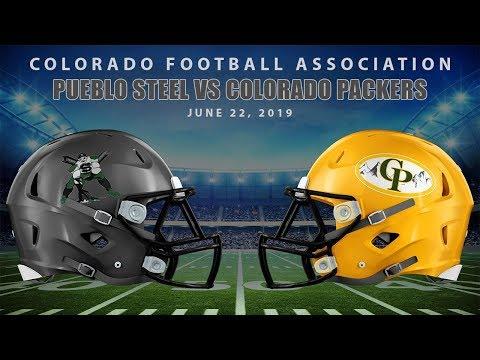 Football -  Pueblo Steel vs Colorado Packers