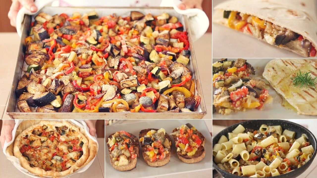 Mix di verdure al forno una ricetta per mille piatti - La casa di benedetta ...