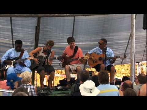 Oscar Lopez at Shelter Valley Folk Festival 2012
