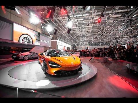 McLaren Automotive press conference at the 2017 Geneva Motor Show