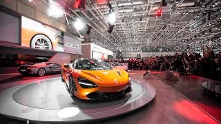 McLaren Automotive press conference at the 2017 Geneva Motor Show