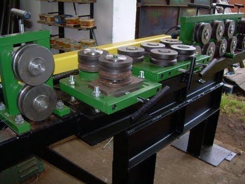 Repeat steel flat bar straightener, wire straightener, to