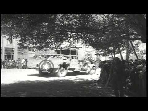 Anglo Soviet occupation of Iran HD Stock Footage