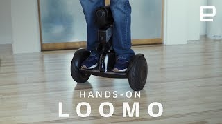 We take the Segway Loomo for a spin Subscribe to Engadget on YouTube: http://engt.co/subscribe Get More Engadget: • Like us on Facebook: ...