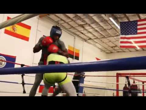 Undefeated Cuban Fighter Frank Sanchez Beats UP and Toys With Sparring Partners