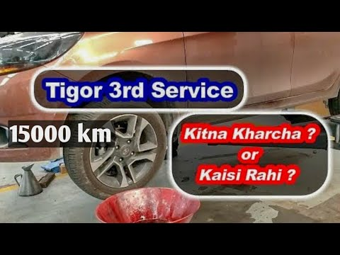 TATA TIGOR 3rd Service Cost and Service Experience