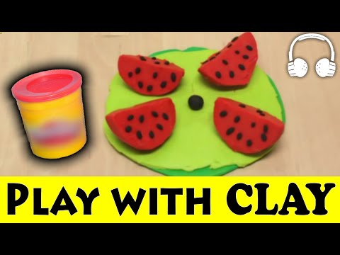 PLAY DOH - WITH CLAY FRIENDS - Muffin Songs | пластилин