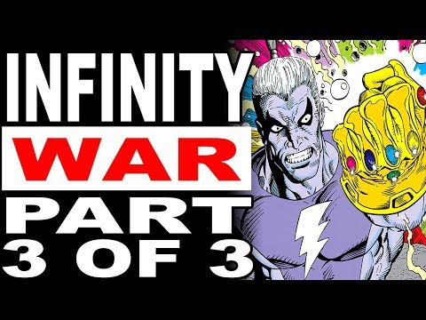 Magus Becomes God & Thanos Strikes Again! (Marvel's Infinity War Part 3 of 3)