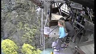 Bungy girl scared