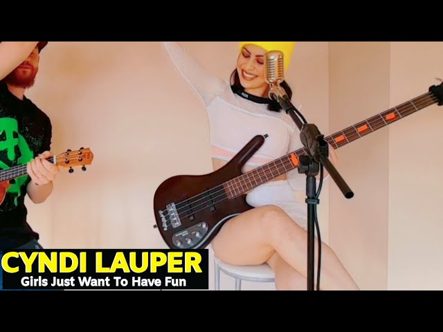 Cindy Lauper - Girls Just Want To Have Fun - Via: Overdriver Duo