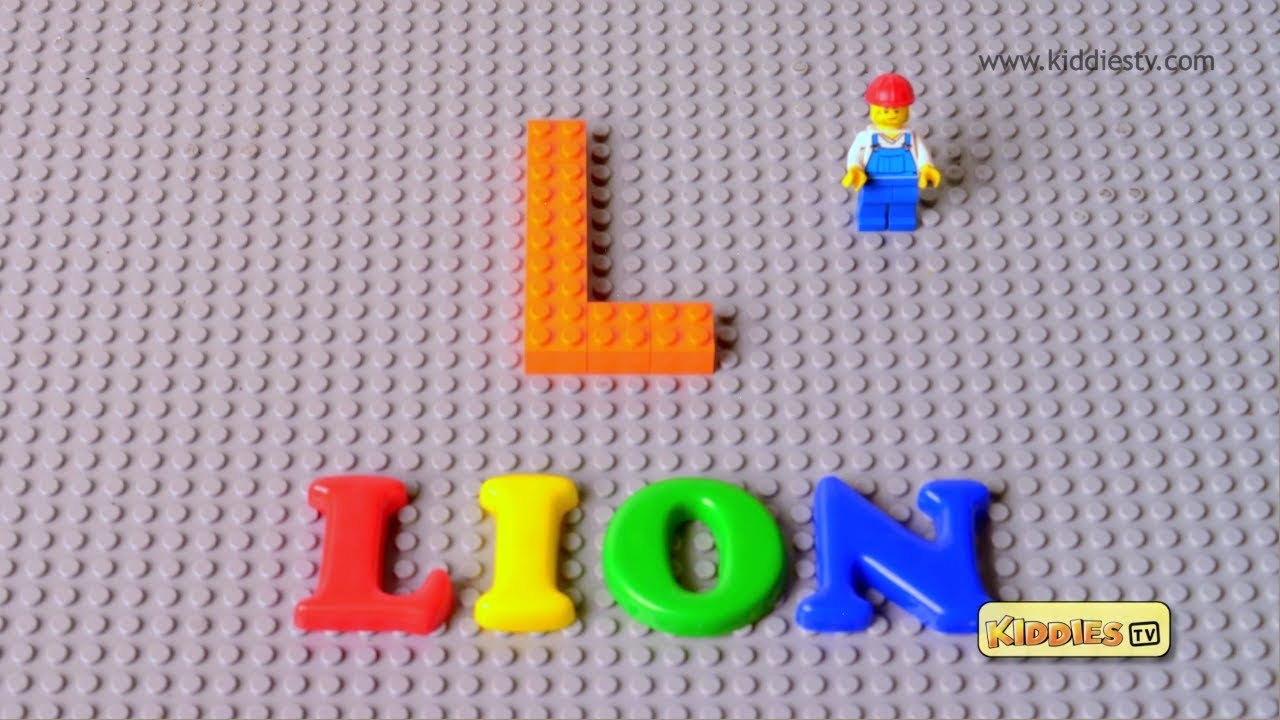 LEGO Alphabet A to Z stop