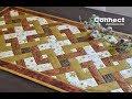Patchwork tutorial Connect - Proplétané čtverce - WEAVE IT BE
