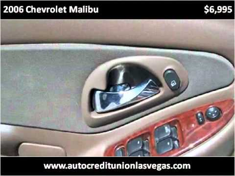 2006 Chevrolet Malibu available from Auto Credit