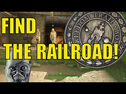 Fallout 4: How To Find The Railroad! - The Molecular Level/The Road To Freedom Guide