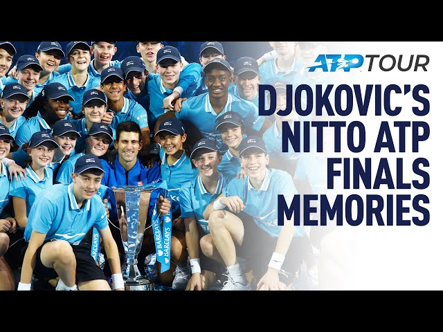 THIS Is Djokovic's Favourite Nitto ATP Finals Victory