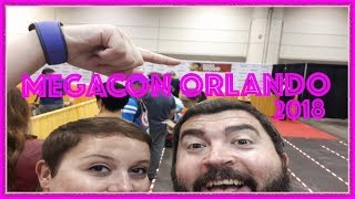 MEGACON ORLANDO 2018 - Amazing cosplayers, traders, guests and sets. We got to touch Elijah Wood
