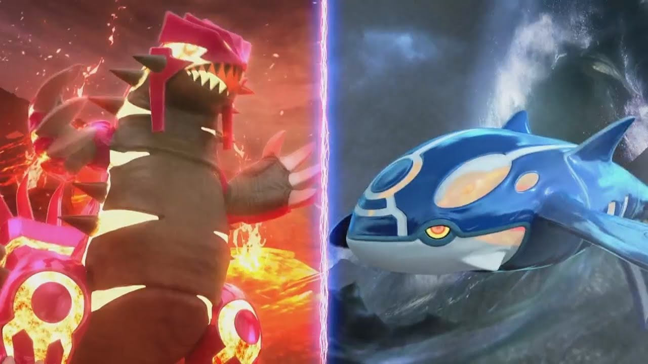 Primal Kyogre Wallpaper roblox pokemon legends: how to get groudon, kyogre, and the primal