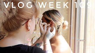VLOG WEEK 109 - MORE PIERCINGS & WEDDING STRESS | JAMIE GENEVIEVE