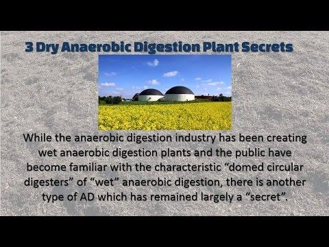 3 Dry Anaerobic Digestion Secrets