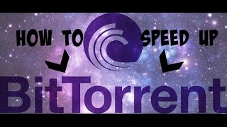 Repeat youtube video How to speed up bittorrent 7.9.2 (build 37596) 32-bit with latest settings!!