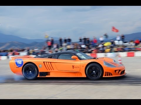 Bad day for 2000 HP Saleen S7 Twin Turbo