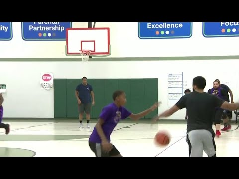 Charity basketball game held on Detroit's east side