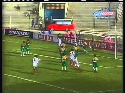 1998 (February 22) Morocco 1 -South Africa 2 (African Nations Cup)