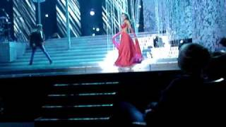 Miss Usa 2009 Evening Gown Parade Dress Rehearsal