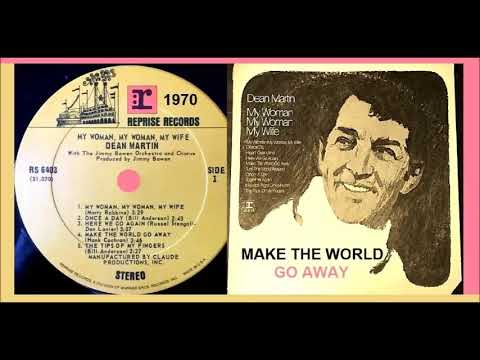 Dean Martin - Make the World Go Away 'Vinyl'