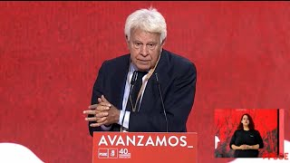 "Felipe González se muestra orgulloso de pertenecer al ""régimen del 78"""