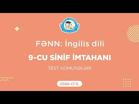9-cu sinif buraxılış imtahanı | Nümunə testlərin izahı