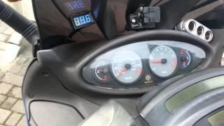 Piaggio 250 Honda motoros
