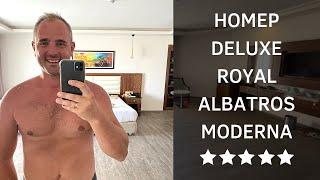 Обзор номера DeLuxe отель Royal Albatros Moderna Египет Шарм Эль Шейх