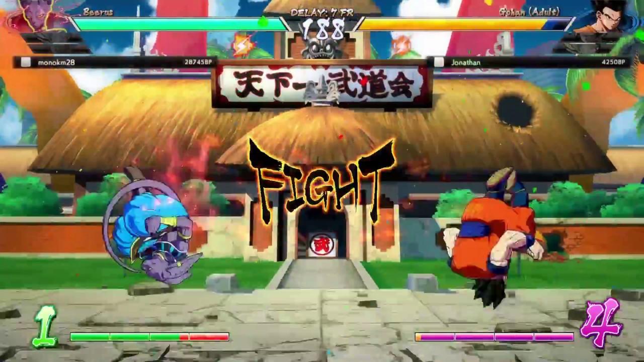 Dragon ball fighterZ random lag spikes