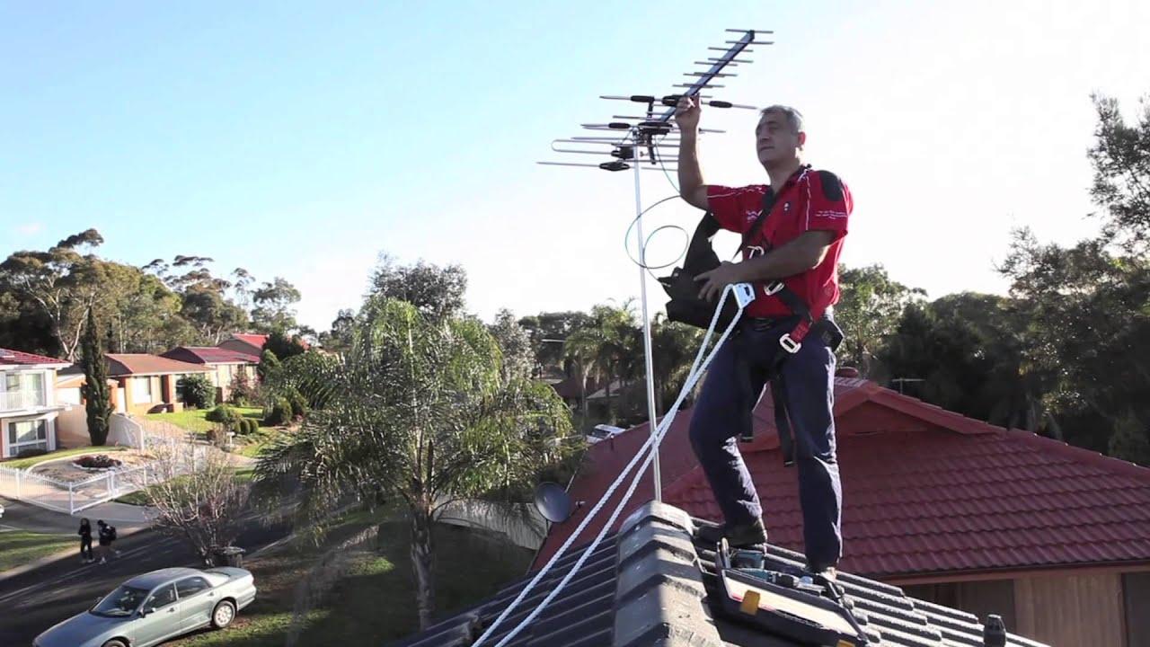 Jimu0027s Antennas: TV Antenna Installation