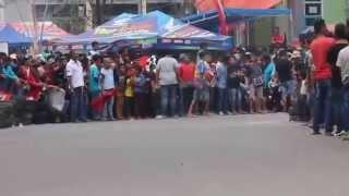 Road Race   Kecelakaan Pada Kelas Bebek , Membuat Penonton Tegang