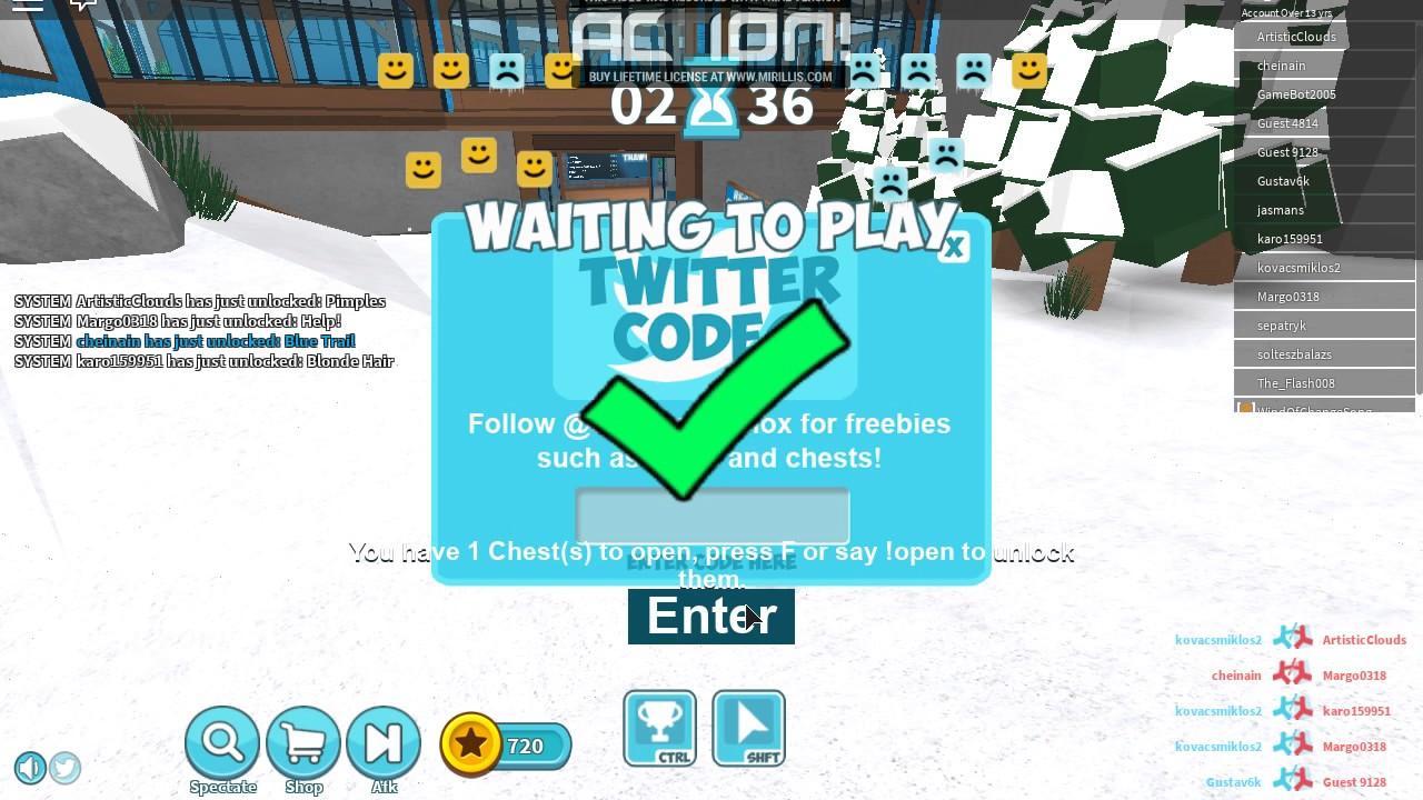 Codes Icebreaker Free Chest Youtube