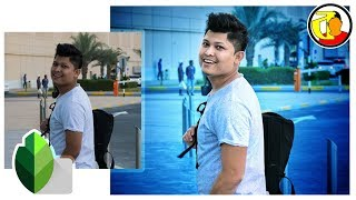 Snapseed Photo Editing   Best Photo Editing App for Android   Snapseed Editing Bangla Tutorial 2018