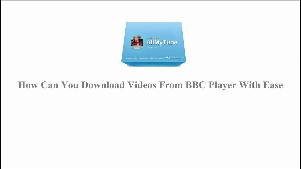 How to download bbc iplayer videos.