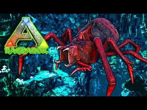 Hidden Spider cave - ARK: RAGNAROK SURVIVAL (DLC)(EP.31)