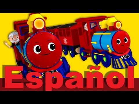 La canción del tren   Canciones infantiles   LittleBabyBum