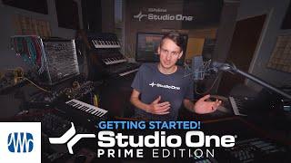 Studio One with Gregor: Getting started with Studio One Prime