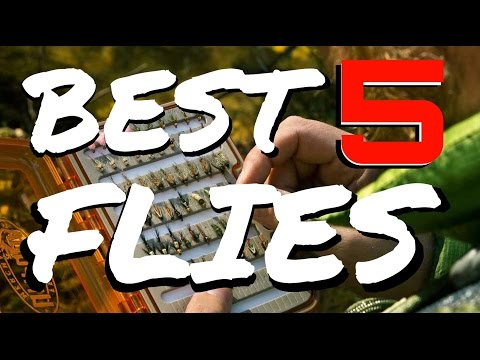 Top 5 Trout Fly Fishing Flies - BEST Patterns