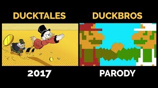 DuckTales 2017 and DuckBros Theme Side By Side